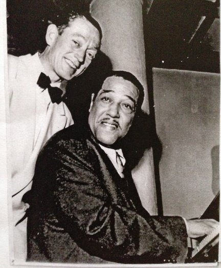 Band leader Bertel Skolborg and Duke Ellington